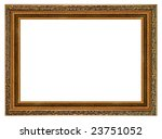 a picture frame on a white | Shutterstock . vector #23751052