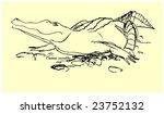 crocodile   Shutterstock .eps vector #23752132