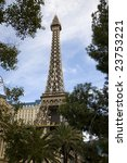 Stock photo las vegas nevada january the eiffel tower in las vegas continues to be a popular attraction in 23753221