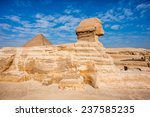 great sphinx of giza  a... | Shutterstock . vector #237585235