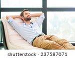handsome day dreamer. handsome...   Shutterstock . vector #237587071