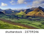 An Aerial View Of Causey Pike ...
