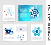 flyer  brochure design... | Shutterstock .eps vector #237597415