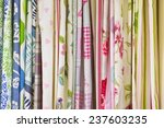 Selection Of Colorful Fabrics...
