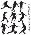 group soccer player | Shutterstock . vector #23760539