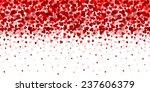 valentine heart background | Shutterstock .eps vector #237606379