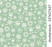 delicate seamless pattern.... | Shutterstock .eps vector #237627637