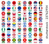 flags icons   Shutterstock .eps vector #23762954