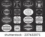 vintage labels. vector set  of... | Shutterstock .eps vector #237632071