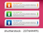 pen icon and design template... | Shutterstock .eps vector #237644491
