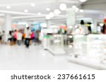 people shopping in department... | Shutterstock . vector #237661615
