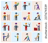 construction worker people... | Shutterstock . vector #237674539