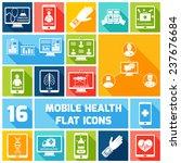 mobile health medicines... | Shutterstock . vector #237676684