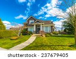 big custom made luxury house... | Shutterstock . vector #237679405