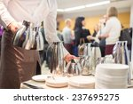 coffee break at conference... | Shutterstock . vector #237695275