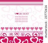 valentine's background | Shutterstock .eps vector #23772616