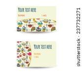 business card design | Shutterstock .eps vector #237732271
