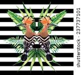 abstract pattern illustration...   Shutterstock .eps vector #237737101