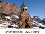 noravank monastery armenia | Shutterstock . vector #23774899