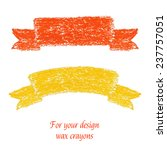 Two Handmade Wax Crayons...