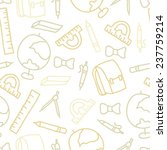 doodle seamless pattern with... | Shutterstock .eps vector #237759214