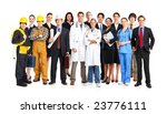 businessman  builder  nurse ... | Shutterstock . vector #23776111