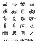 medical icon | Shutterstock .eps vector #237763237