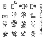 mobile devices and wireless... | Shutterstock .eps vector #237763891