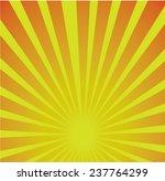 sun ray background | Shutterstock .eps vector #237764299