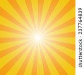 sun sunburst pattern.  | Shutterstock . vector #237764839
