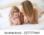 portrait of cute little girl... | Shutterstock . vector #237777664