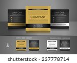 simple square business card... | Shutterstock .eps vector #237778714