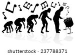 evolution of the steel pan... | Shutterstock .eps vector #237788371