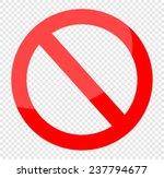 vector blank ban | Shutterstock .eps vector #237794677
