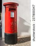 Traditional Red British Post...