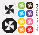 turbine icon   vector   Shutterstock .eps vector #237806044