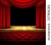 theater hall | Shutterstock .eps vector #237806281