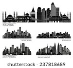 Skyline Detailed Silhouette...