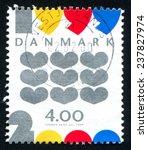 denmark   circa 1999  stamp... | Shutterstock . vector #237827974