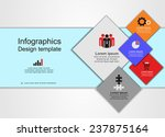 abstract web design. vector... | Shutterstock .eps vector #237875164