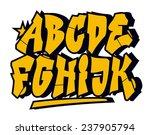 graffiti style font type....