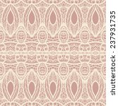seamless lace pattern | Shutterstock .eps vector #237931735