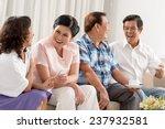 vietnamese senior people having ... | Shutterstock . vector #237932581