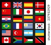 flags set | Shutterstock .eps vector #237932929
