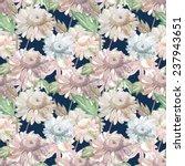 garden flower seamless pattern   Shutterstock . vector #237943651