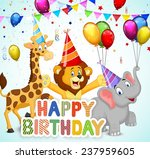 birthday background with... | Shutterstock .eps vector #237959605