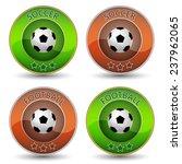 soccer or football vector icon... | Shutterstock .eps vector #237962065