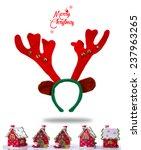 merry christmas. christmas... | Shutterstock . vector #237963265