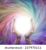 sending vortex healing energy   ... | Shutterstock . vector #237970111