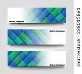 set of banner templates with... | Shutterstock .eps vector #238015861